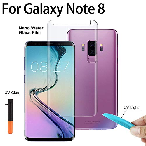 Samsung Note 8 UV curved glass protector