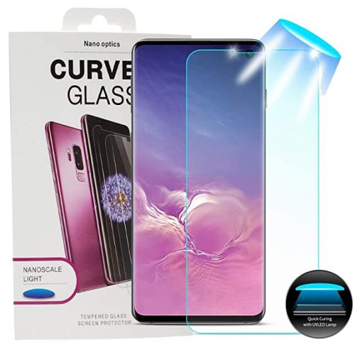 Samsung S9 UV curved glass protector