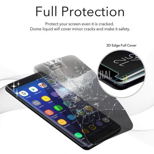 Samsung S10 UV curved glass protector