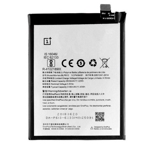 OnePlus 3 battery