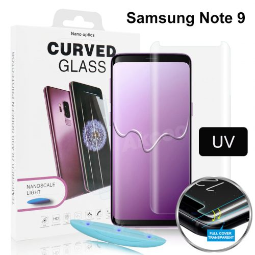 Samsung Note 9 UV curved glass protector