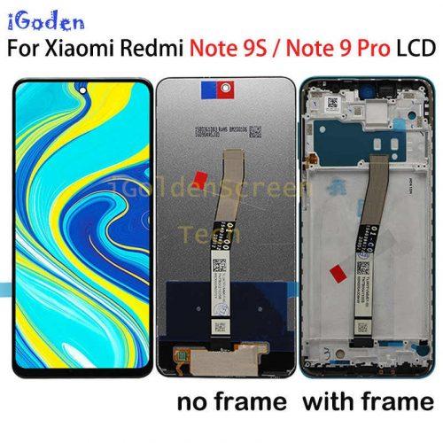 Xiaomi Redmi Note 9 Pro,note 9s LCD Screen