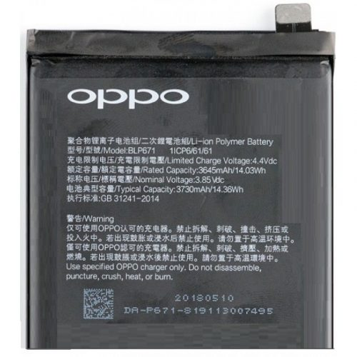 Oppo Find X Battery