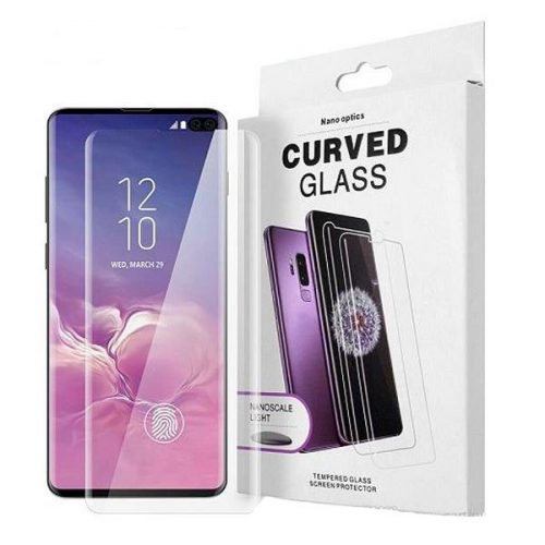 Samsung S10 plus UV curved glass protector