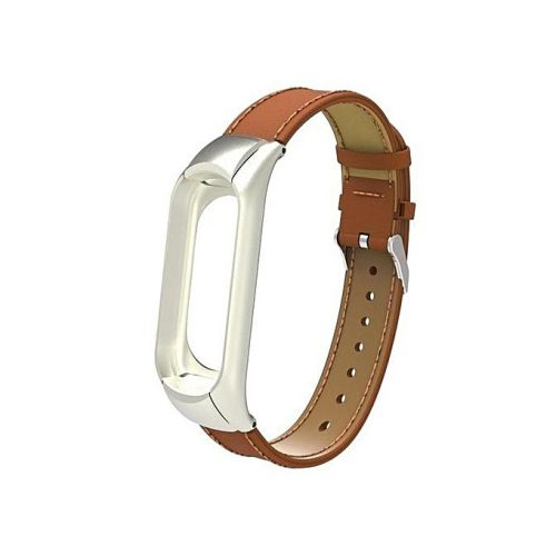 Leather Strap For Mi Band 3/4 Fitness Tracker
