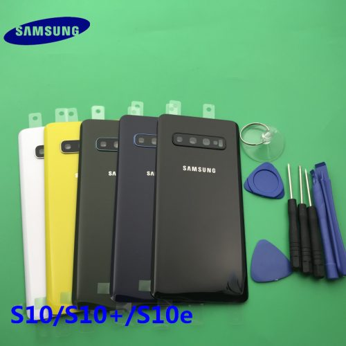Original samsung galaxy S10 battery door cover