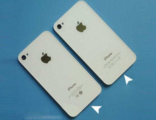 iphone 4S battery door cover
