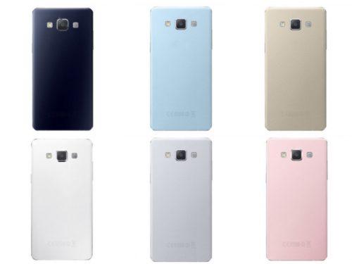Samsung Galaxy A3 back-shell