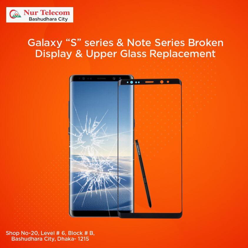 Samsung-Upper-Glass-replacement