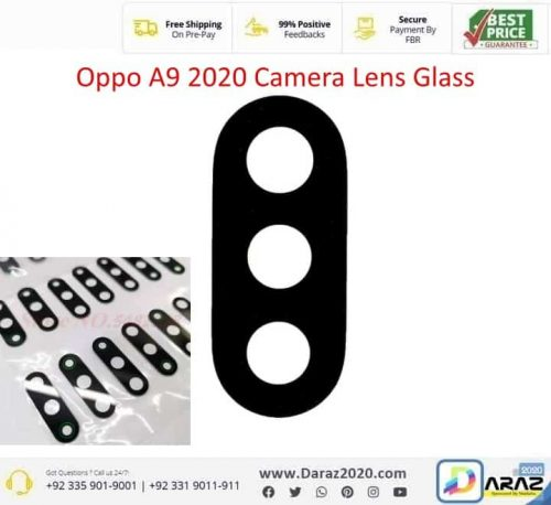 Oppo A9 Rear Facing Camera Glass Lens Replacement