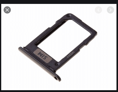 Samsung Galaxy A6 sim card tray