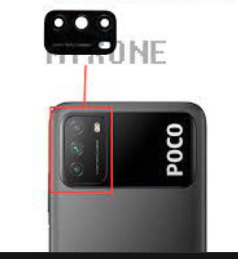 Xiaomi Poco M3 Rear Facing Camera Glass Lens Replacement